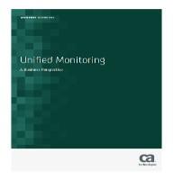 Monitorización unificada
