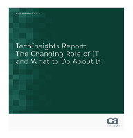Informe TechInsights: El rol variable de IT y qué hacer con el