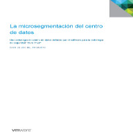 La microsegmentación del centro de datos
