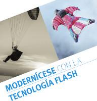 Modernícese con la tecnología Flash