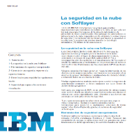 La seguridad en la nube con Softlayer