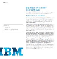 Big data en la nube con Softlayer