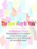 Una nueva forma de trabajar