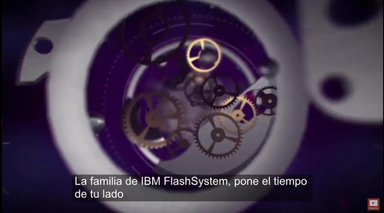 Video: IBM FlashSystem Family está impulsando el cambio en el almacenamiento empresarial
