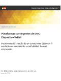 Plataformas convergentes de EMC: Dispositivo VxRail