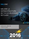 Mejore la infraestructura de TI a la velocidad de flash