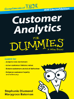 Customer Analytis for dummies