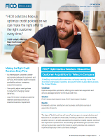 FICO® Optimization Solutions Streamline Customer Acquisition for Telecom Company