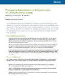 Principales Capacidades de Infraestructura de Contact Center, Global