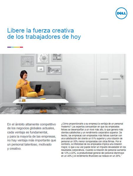 Libere la fuerza creativa de los trabajadores de hoy