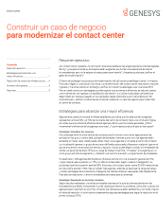 Construir un caso de negocio para modernizar el contact center