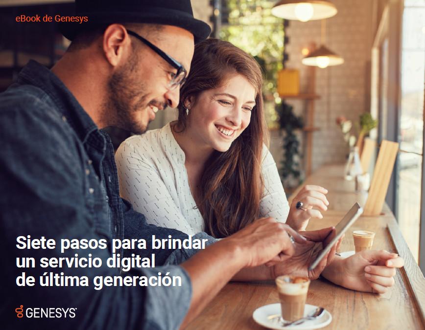 Siete pasos para brindar un servicio digital de última generación