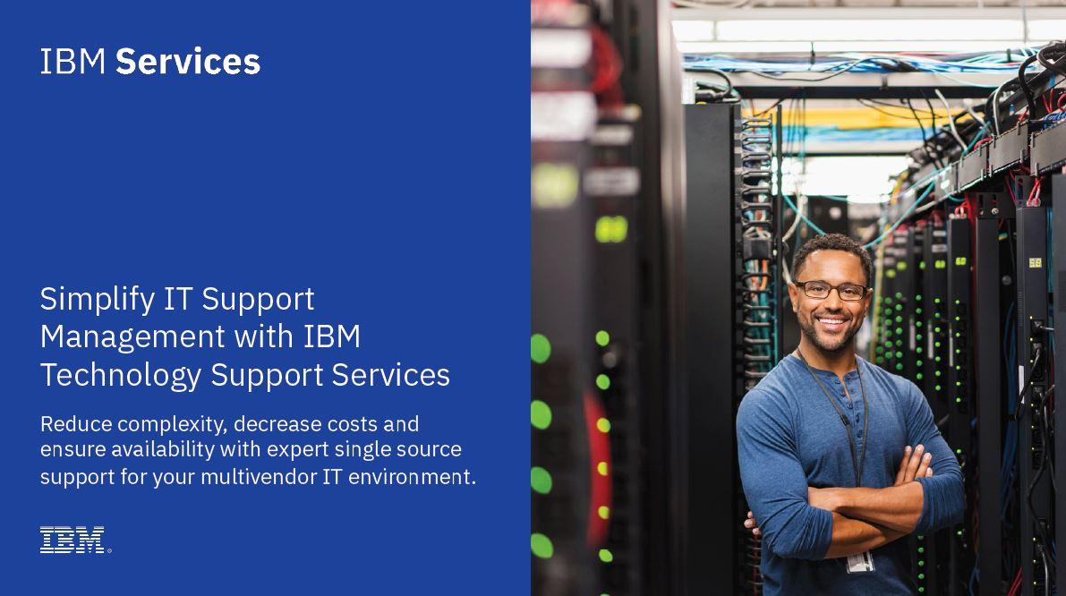 Simplifique la gestión de soporte de TI con IBM