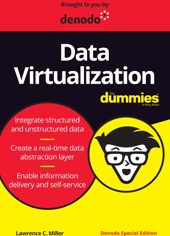 Virtualización de datos para Dummies