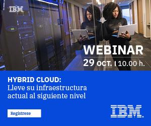 Webinar: Hybrid Cloud: Lleve su infraestructura actual al siguiente nivel