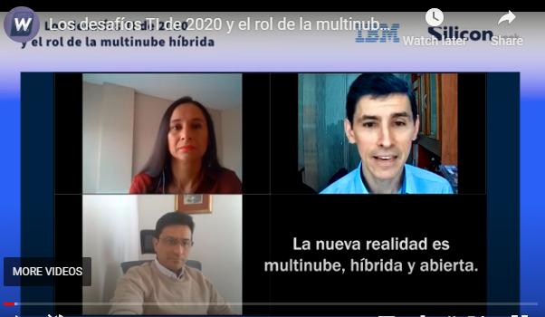 Los desafíos TI de 2020 y el rol de la multinube híbrida