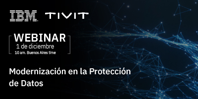 Webinar: Modernización en la Protección de Datos