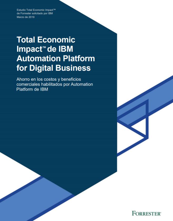 Ahorro en los costos y beneficios comerciales habilitados por Automation Platform de IBM